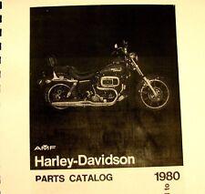 1971-1980 Harley-Davidson  Parts Man.For FX Models-Super Glide  #99455-80