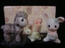 New ListingPrecious Moments-Mini Nativity Additions-Bunny, Lamb & Turtle