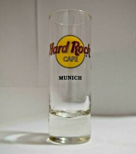 Hard Rock Cafe  Shot Glass Munich Travel Souvenir Shooter
