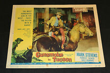 1958 Gunsmoke in Tucson Lobby Card 58/301 #2 Mark Stevens (C-5)