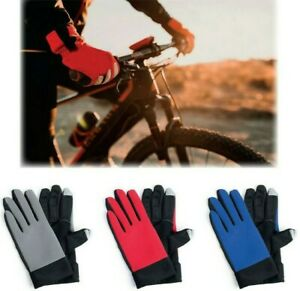 MENS Sports Touch Screen Gloves Anti-Slip Thermal Warm Winter Gloves iPad Tablet