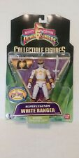 Power Rangers Jungle Fury Super Legends Mighty Morphin White Ranger MOSC