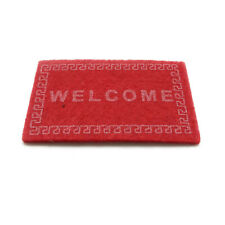 Dollhouse Miniature Floor Mat Gate pad Welcome Doormat Rug Accessory Red