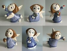 Angel porcelain figurine, handmade, angel figurine