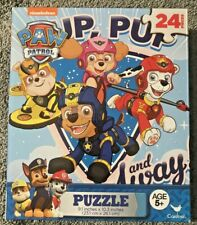 """Jigsaw Puzzle PAW PATROL CHARACTER 24 Pieces 10.3"""" x 9.1""""  C1"""