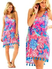 NWT Lilly Pulitzer Roxi Swing Dress Coral Reef I'm So Jelly Sz M