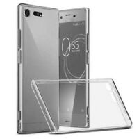 Soft Gel Clear Transparent Case Cover For Sony Xperia XZ1 XZ1 Compact Phones