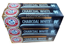 6 x Arm & Hammer Toothpaste Charcoal White