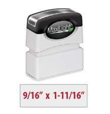MaxLight XL2-75S Pre-Inked Custom Stamp