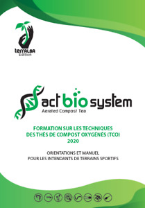Formation PRO Manuel TCO Terrains Sportifs 2020 thé compost oxygéné compost tea