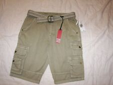 Buffalo Cargo Shorts with Belt - Filipo -  Size 28 - New with Tags