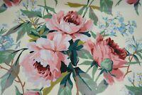 Chintz Mira Suaves Tonos Pastel Neotrims Rose Buds Impreso tejido material