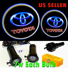 2x 7w Ghost Shadow Laser Projector Logo LED Light Courtesy Door Step for Toyota