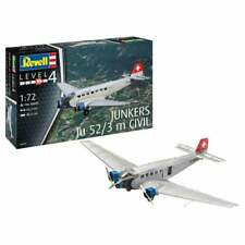 Revell 04975 1:72 Junkers Ju52/3m Civil Aircraft Model Kit