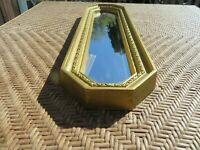 Vintage Mid-Century Modern Gold Homco Home Interior Mirror #2373 Syroco Inc.