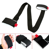 Ski Snowboard Bag Carrier Hand Handle Straps Binding Protection Pole Tie  New.~