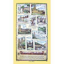 SAMUAL Lamont historique Yorkshire Thé Serviette