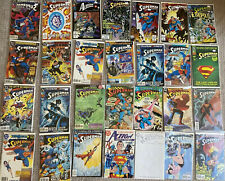 Superman Action Comics Mixed Comic Books Collection Lot Of 28