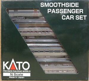 Kato 106-6006 Southern Pacific Smooth Side 4 Car Set MIB N-Scale