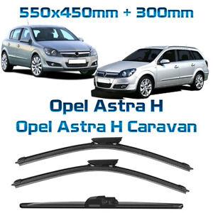 SPAR-PACK 550//450mm für Opel Astra H SCHEIBENWISCHER 4Stk ALLE AUSFÜHRUNGEN