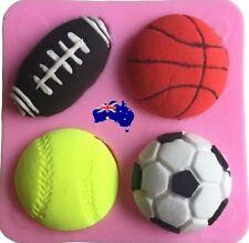 Sports Ball Mold Football Soccer Ball Basketball Tennis Ball Mold Cake Decoratin