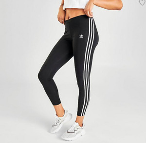 ADIDAS Originals Trefoil 3 Stripes Leggings Bottoms Girls 11-12 Yrs *REFOFB17/18