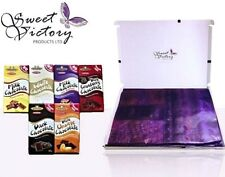 6x Chocolate Bar Selection Gift Box Sugar Free - No Added Sugars & Gluten Free