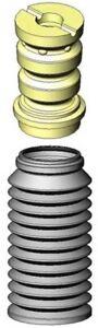 KYB Strut Boot Kit Rear for BMW, Hyundai, Audi, Kia, Hyundai, Jeep / SB114