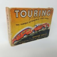 Vintage Parker Bros. 1947 Touring Card Game Famous Automobile Improved Edition