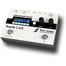 Two Notes Audio Torpedo CAB Professional Speaker Simulator Guitar Bass Pedal