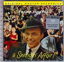 Frank Sinatra , A Swingin Affair (Numbered Limited Edition SACD Mono)