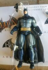 "DC Collectables BATMAN Arkham Asylum blue figure 7"" loose Arkham city box set"