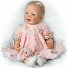 Ashton Drake Pretty In Pink Realistic Baby Doll 21' New