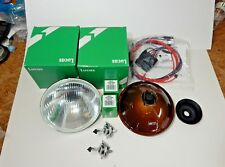 Lucas H4 Halogen Headlight Headlamp Lighting Kit Triumph TR3 TR4 TR6 W Relay Kit