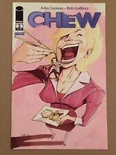 CHEW #3 FIRST PRINTING NEAR MINT JOHN LAYMAN ROB GUILLORY IMAGE COMICS NM 1ST