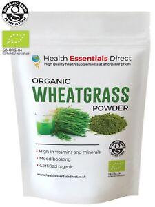 Organic EU Wheatgrass powder - (Superior EU Grown - Chlorophyll) -  Choose Size: