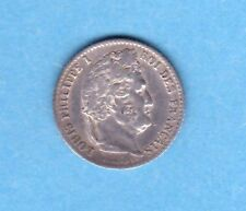 (F.93) MONNAIE DE LOUIS PHILIPPE 1/4 DE FRANC 1831 B ROUEN (TTB+) RARE