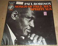 PAUL ROBESON Songs of Free Man Spirituals - Columbia/ Odyssey 32 16 0268 SEALED