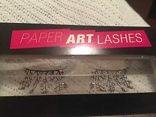 Paperself Unique Art Lashes Paper False Lashes Black Fish MERMAID