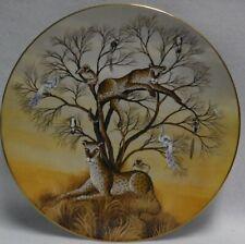 "Royal Doulton china Jungle Fantasy Gustavo Novoa Dinner Plate 10-1/2"" - Patience"