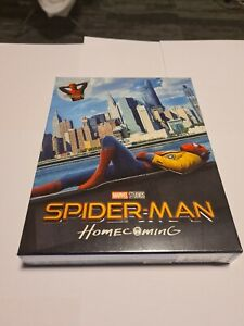 Spider-Man Homecoming Blufans Exclusive Steelbook Fullslip- Bluray