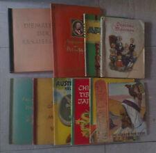Cigaretten Bilderdienst u. Margarine Union AG 10 Bücher - Sammelbilderalben kpl