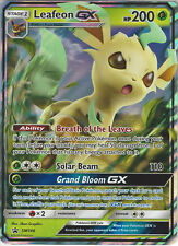 Pokemon Black Star Promo Card: Leafeon GX - SM146 - Rare Holo GX