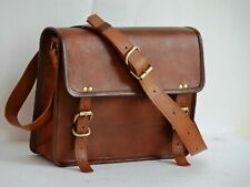 Leather 13.3 Real Vintage Leather Laptop Case Bag for MacBook Pro Air 11 13