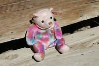 TY Opal the October Birthday Bear Beanie Babies Retired 2001 New with Mint Tags