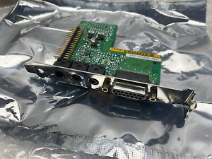"""NEW - QTY AVAILABLE PBA 659102-001 PC Sound Card w/ BRACKET 4.75"""""""