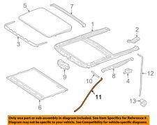 MERCEDES OEM 12-15 ML350 Sunroof-Drain Hose 1667850601