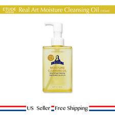 Etude House Real Art Cleansing Oil Moisture 185ml + Free Sample [ US Seller ]
