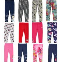 Girls Character Leggings Pants Trousers, Full Length, Official Licensed