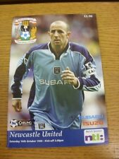 16/10/1999 Coventry City v Newcastle United  . Thanks for viewing this item, buy